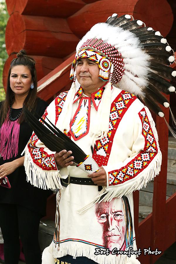 Treaty Six Chief Tranfer Ceremony - 2016