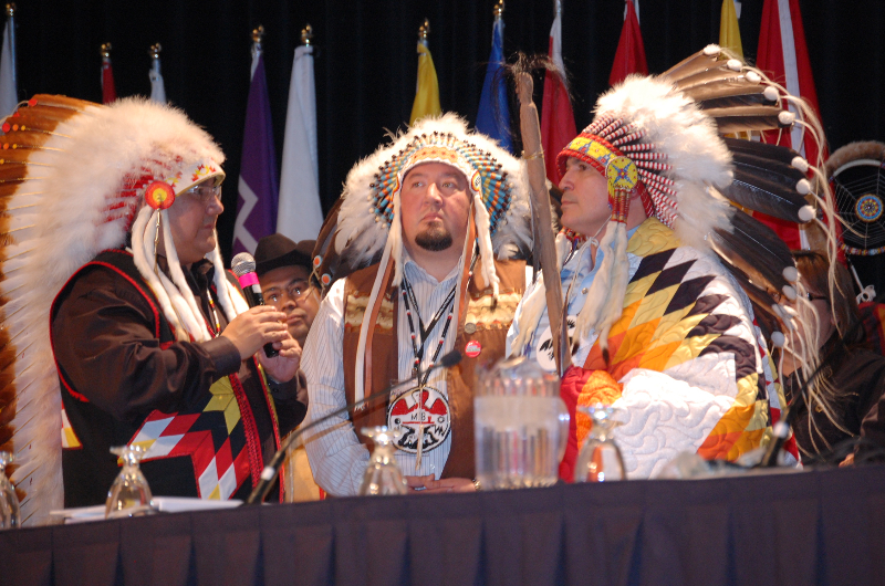 Perry Bellegarde and Manitoba Chiefs