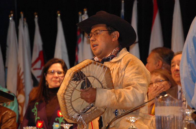 Tsilhqot'in First Nation Chief Roger William