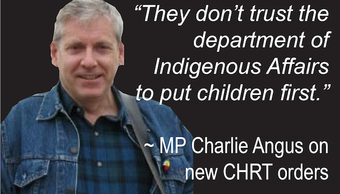 MP Charlie Angus quote