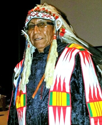 Chief Arvol Looking Horse, spiritual leader of Standing Rock