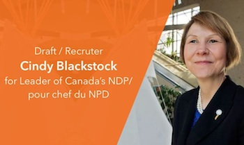 Some are trying to draft Cuindy Blackstock to run for NDP leader