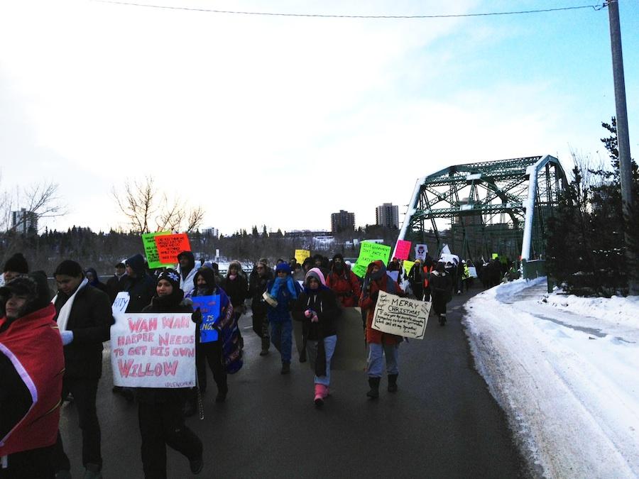 Edmonton Idle No More Rally Dec. 21, 2012