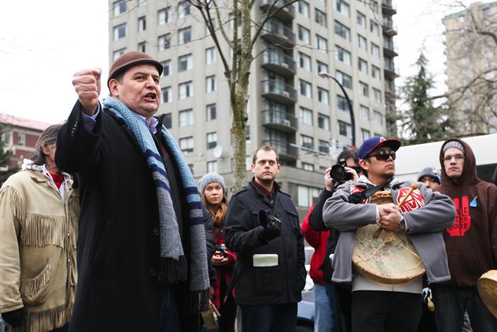 rank Brown of Heilstuk First Nation at Bella Bella