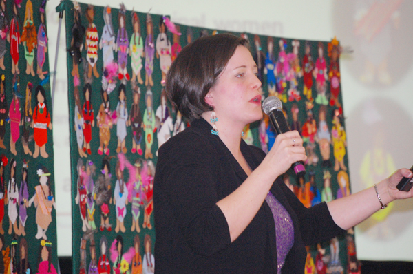 Jennifer Lord with Native Women's Association of Canada