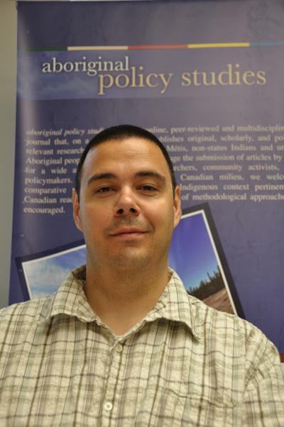 University of Alberta professor Chris Andersen: editor of the new Aboriginal Pol