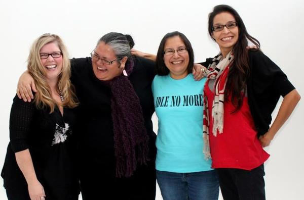 From left: Sheelah McLean, Nina Wilson, Sylvia McAdam, and Jess Gordon.