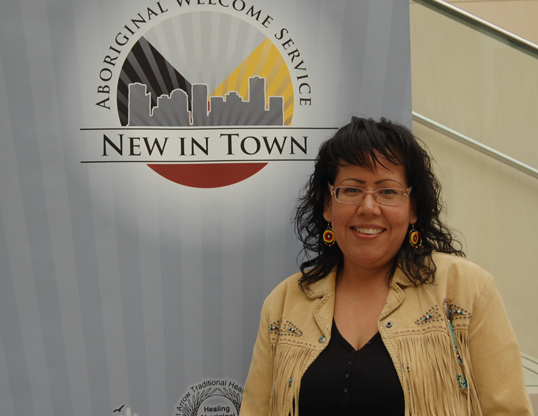 Cheryl Whiskeyjack, executive director for Bent Arrow Traditional Healing Societ