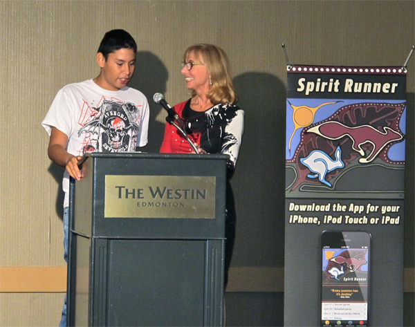 Ethan Desjarlais, 16, from Cold Lake First Nation and now residing in Edmonton