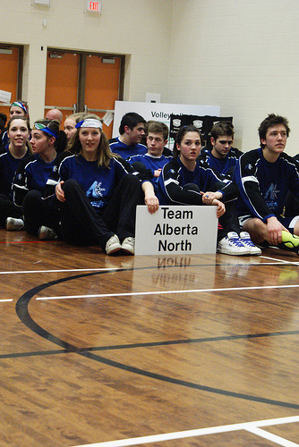 The team from the hosting province Alberta North placed second with 145 medals a