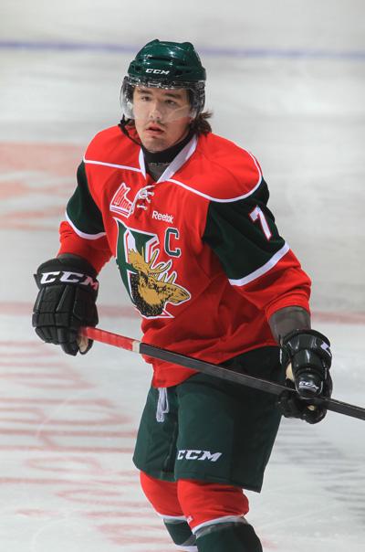 Trey Lewis, a Mi'kmaq from New Brunswick's Elsipogtog First Nation