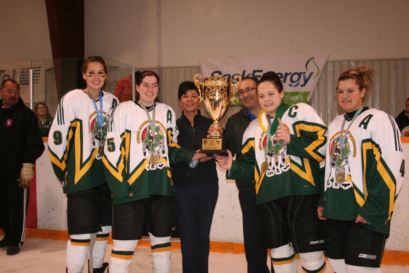Saskatchewan female team wins gold