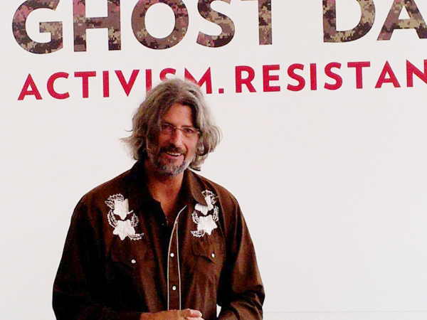 Art historian, scholar and writer Steve Loft, Curator of Ghost Dance: Activism.