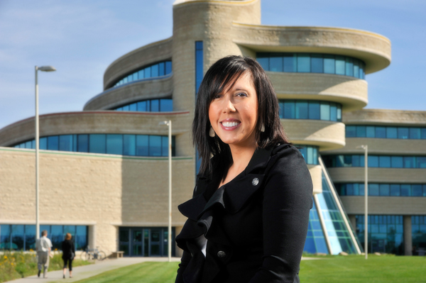 Dr. Carrie Bourassa, associate professor of Indigenous health studies at First N
