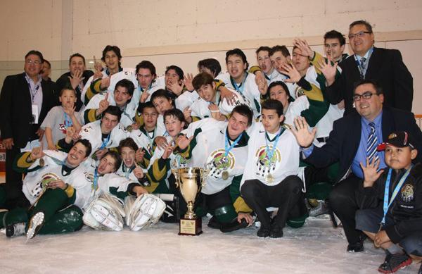 Boys gold medalists Saskatchewan