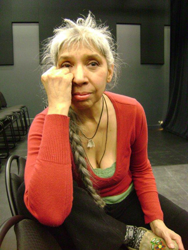Actor and playwright Monique Mojica in Toronto