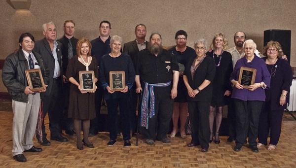 Winners of the Entrepreneurial Leadership Awards for the Métis Nation of Alberta