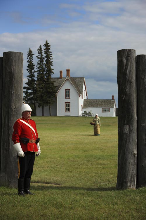 Fort Battleford from the gate. (Photo: provided)