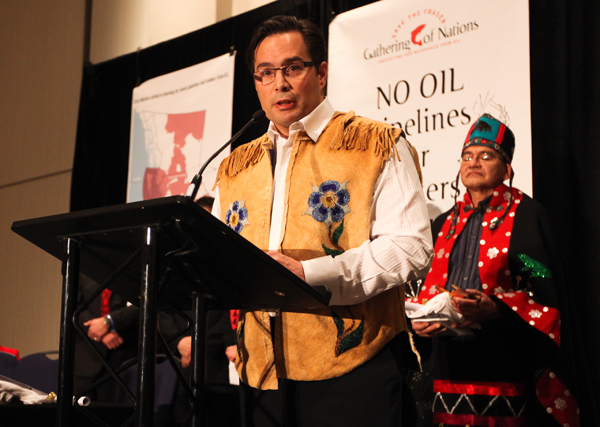 Keith Henry president of the BC Métis Federation