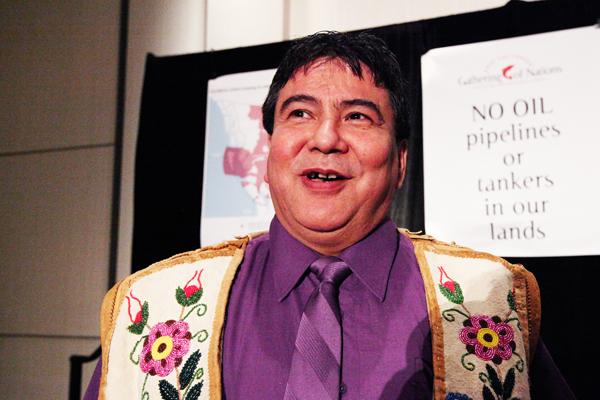 Lyle Campbell-Letendre president of the Kelly Lake Métis Settlement Society