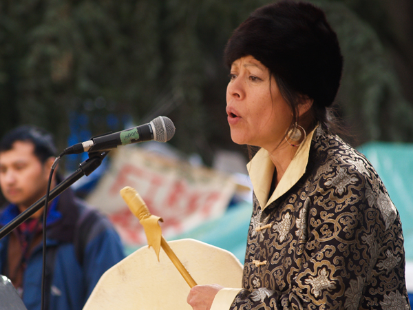Kwitsel Tatel (Patricia Kelly), ofStó:lo nation in B.C., won her fight against
