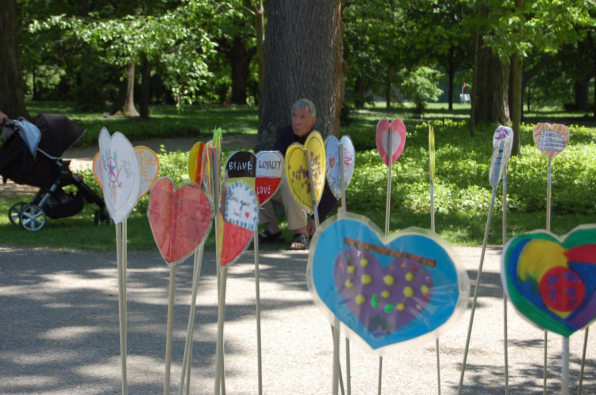 TRC Heart Garden