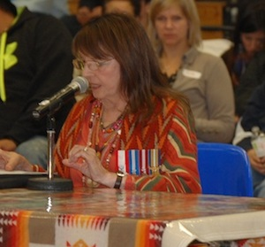 Muriel Stanley Venne, president for IAAW ( file photo)
