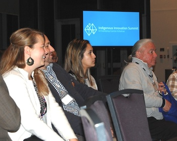 Participants gathered at Indigenous Innovation Summit held at t