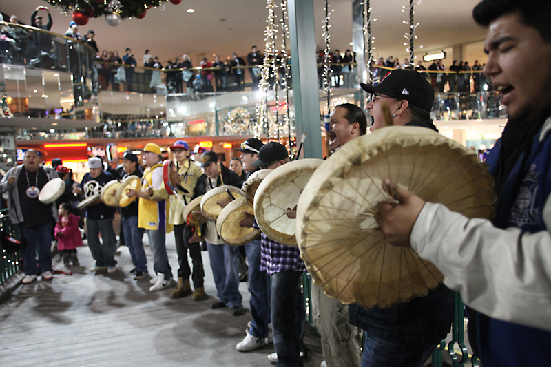 WEM Flash Mob Round Dance Dec. 17, 2012