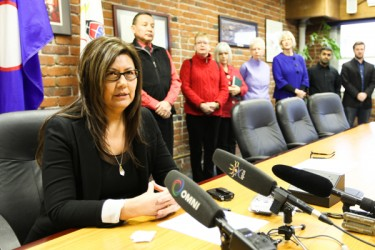Brenda Sayers, elected councillor of Hupacasath First Nation.