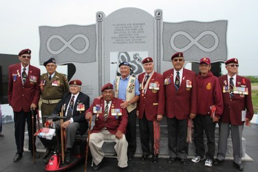 A monument that will have all the names of Métis veterans