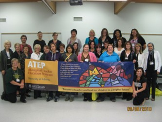 ATEP students at Portage College